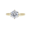 1.34 ct. Round Cut Solitaire Ring, E, SI1 #3