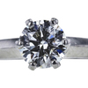 1.02 ct. Round Cut Solitaire Ring, H, SI1 #4