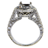 1.05 ct. Round Cut Bridal Set Ring, G, SI1 #4
