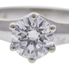 0.71 ct. Round Cut Solitaire Ring, H, SI2 #3