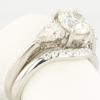 1.05 ct. Round Cut Bridal Set Tiffany & Co. Ring #3
