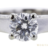 1.00 ct. Round Modified Brilliant Cut Bridal Set Ring, H, SI1 #4
