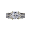 2.03 ct. Radiant Cut Solitaire Ring, F, VS2 #2