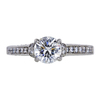 1.01 ct. Round Cut Solitaire Ring, I, SI1 #3