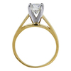 1.06 ct. Round Cut Solitaire Ring, I, I1 #1