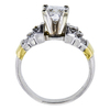 1.50 ct. Princess Cut Solitaire Ring, F, VS2 #3