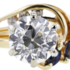 1.43 ct. European Cut Bridal Set Ring #4