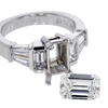 1.33 ct. Emerald Cut Solitaire Ring #1
