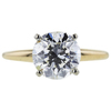 2.01 ct. Round Cut Solitaire Ring #4