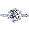 1.98 ct. Round Cut 3 Stone Ring #3