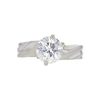 Antique GIA 1.74 ct. Round Cut Solitaire Ring, H, SI2 #3