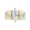 1.52 ct. Marquise Cut Solitaire Ring, G, SI2 #3
