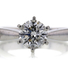 1.12 ct. Round Cut Solitaire Ring #1