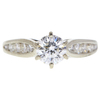 0.81 ct. Round Cut Solitaire Ring, G, VS1 #3