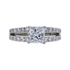 1.23 ct. Princess Cut Solitaire Ring, G, VS2 #3