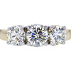 0.71 ct. Round Cut 3 Stone Ring, L, SI1 #1
