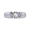 1.11 ct. Round Cut Solitaire Ring, J, I2 #3