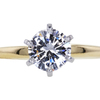 1.00 ct. Round Cut Solitaire Ring #1