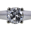 1.05 ct. Round Cut Solitaire Ring, G, SI2 #4