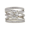 2.04 ct. Cushion Cut Solitaire Ring, I, I1 #3