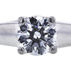 1.00 ct. Round Cut Solitaire Ring, D, SI1 #2