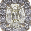 1.41 ct. Cushion Cut Halo Ring, K, SI1 #4