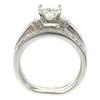 0.95 ct. Princess Cut Bridal Set Ring, H-I, I1 #3