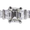1.04 ct. Emerald Cut Ring, I, VVS2 #4