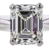 2.00 ct. Emerald Cut Solitaire Ring, G, SI1 #4