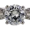 1.21 ct. Round Cut Bridal Set Ring #3