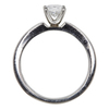 1.0 ct. Oval Cut Solitaire Ring, D, IF #4