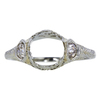 2.62 ct. Circular Brilliant Cut 3 Stone Ring, M-Z, SI2 #3