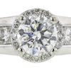 0.8 ct. Round Cut Solitaire Ring, G, SI2 #4