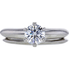 0.61 ct. Round Cut Bridal Set Tiffany & Co. Ring, G, VS1 #3
