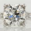 Antique Art Deco 2.20 ct. European Cut Ring #1