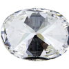 1.08 ct. Oval Cut 3 Stone Ring, H, VS1 #2