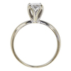 1.08 ct. Oval Cut Solitaire Ring, D, SI1 #4