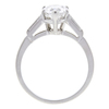 1.7 ct. Pear Cut Solitaire Ring, D, SI1 #4