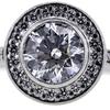 .97 ct. Round Cut Halo Ring #2