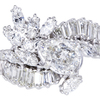 1.56 ct. Pear Cut Central Cluster Ring #3