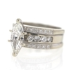 1.33 ct. Marquise Cut Bridal Set Ring #3
