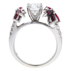 1.01 ct. Round Cut Central Cluster Ring, G, I1 #4