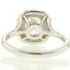 0.85 ct. Cushion Cut Halo Ring #3