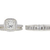 1.6 ct. Princess Cut Bridal Set Ring, I, VS1 #3