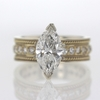 2.25 ct. Marquise Cut Solitaire Ring #1