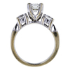 0.75 ct. Round Cut Bridal Set Ring, G, VS2 #2