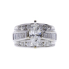 0.97 ct. Marquise Cut Bridal Set Ring, I, I1 #2
