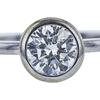 0.96 ct. Round Cut Solitaire Ring, J-K, I1 #1