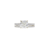2.01 ct. Cushion Cut Bridal Set Ring, J, SI1 #3