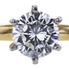 0.75 ct. Round Cut Solitaire Ring, D, VS1 #1